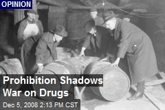Prohibition Shadows War on Drugs