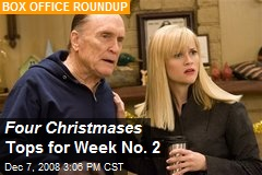 Four Christmases Tops for Week No. 2