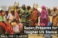 Sudan Prepares for Tougher US Stance