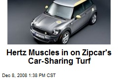 Hertz Muscles in on Zipcar's Car-Sharing Turf