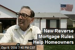 New Reverse Mortgage Rules Help Homeowners