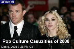 Pop Culture Casualties of 2008