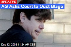 AG Asks Court to Oust Blago