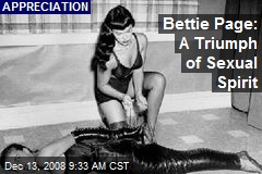 Bettie Page: A Triumph of Sexual Spirit