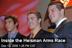Inside the Heisman Arms Race