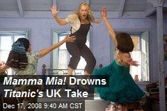 Mamma Mia! Drowns Titanic's UK Take