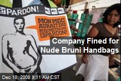 Company Fined for Nude Bruni Handbags