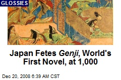 Japan Fetes Genji , World's First Novel, at 1,000
