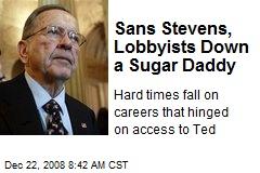 Sans Stevens, Lobbyists Down a Sugar Daddy