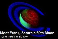 Meet Frank, Saturn's 60th Moon