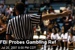 FBI Probes Gambling Ref