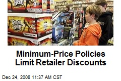 Minimum-Price Policies Limit Retailer Discounts