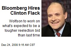 Bloomberg Hires Clinton Flack