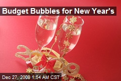 Budget Bubbles for New Year's