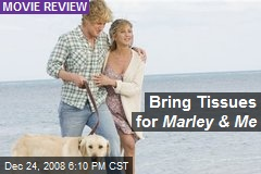 Bring Tissues for Marley & Me