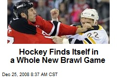 Hockey Finds Itself in a Whole New Brawl Game