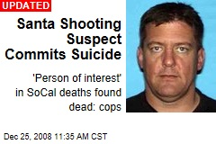 Santa Shooting Suspect Commits Suicide