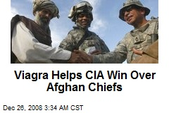 Viagra Helps CIA Win Over Afghan Chiefs