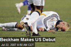 Beckham Makes US Debut