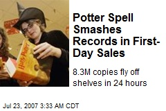 Potter Spell Smashes Records in First-Day Sales
