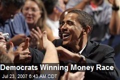 Democrats Winning Money Race