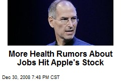 More Health Rumors About Jobs Hit Apple's Stock