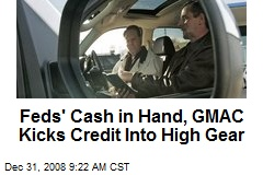 Feds' Cash in Hand, GMAC Kicks Credit Into High Gear