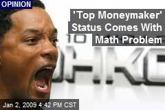 'Top Moneymaker' Status Comes With Math Problem