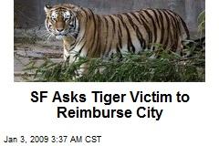 SF Asks Tiger Victim to Reimburse City