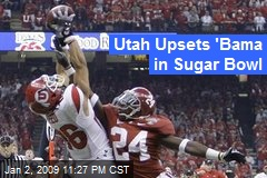 Utah Upsets 'Bama in Sugar Bowl
