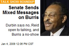 Senate Sends Mixed Messages on Burris