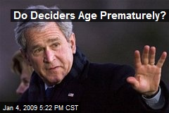 Do Deciders Age Prematurely?