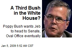 A Third Bush in the White House?