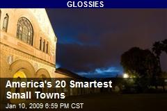 America's 20 Smartest Small Towns
