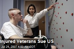 Injured Veterans Sue US