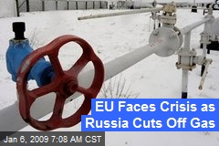 EU Faces Crisis as Russia Cuts Off Gas