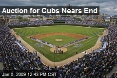 Auction for Cubs Nears End