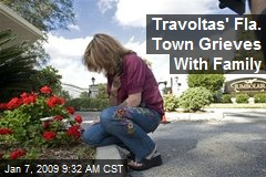Travoltas' Fla. Town Grieves With Family