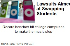 Lawsuits Aimed at Swapping Students