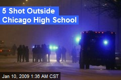 5 Shot Outside Chicago High School