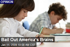 Bail Out America's Brains