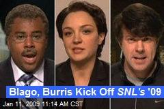 Blago, Burris Kick Off SNL's '09
