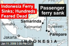 Indonesia Ferry Sinks; Hundreds Feared Dead