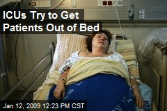 ICUs Try to Get Patients Out of Bed