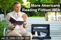 More Americans Reading Fiction: NEA