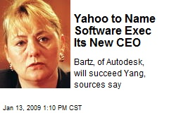 Yahoo to Name Software Exec Its New CEO