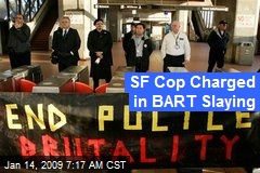 SF Cop Charged in BART Slaying