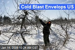 Cold Blast Envelops US