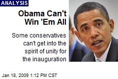 Obama Can't Win 'Em All