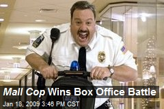 Mall Cop Wins Box Office Battle